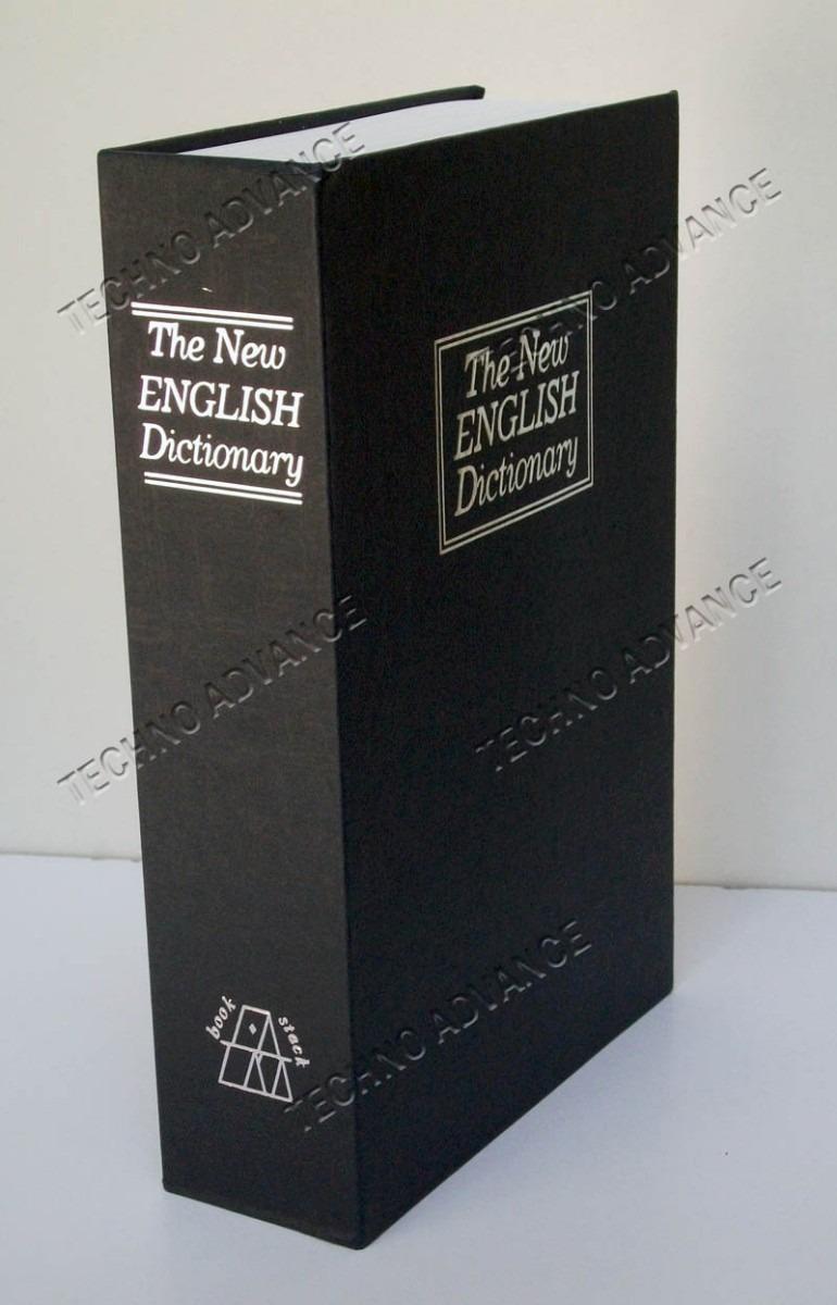 Caja fuerte de seguridad camuflada libro interior acero - Precio caja fuerte ...