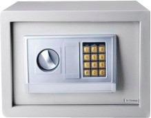 caja fuerte de seguridad digital 10 pulg cseg-10 silver