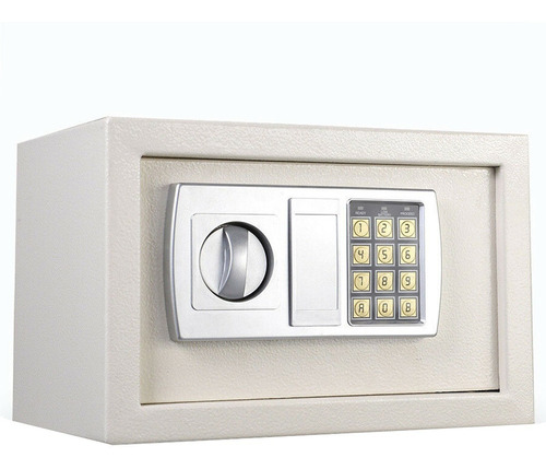 caja fuerte de seguridad digital alarma bloqueo con 2 llaves