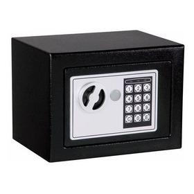 Caja Fuerte Digital Color Negro Y Llaves Seguridad Confianza