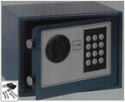 caja fuerte digital de alta seguridad 14x19x14cm + obsequio