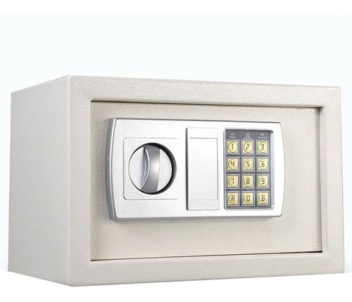 caja fuerte digital electrónica seguridad teclado + 2 llaves