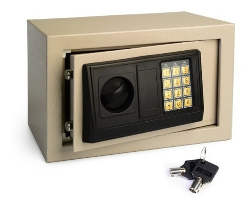 caja fuerte digital, llave manual, 31x20x20 local quilmes