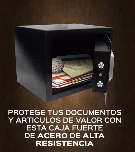 caja fuerte electronica manual o digital de doble pasador