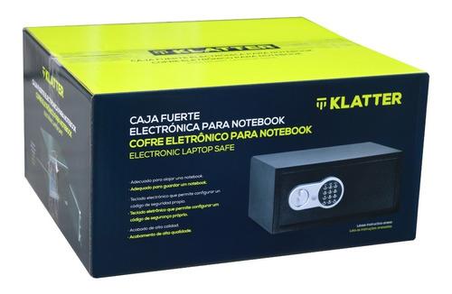 caja fuerte electrónica para notebook - 22,5 litros - klatter