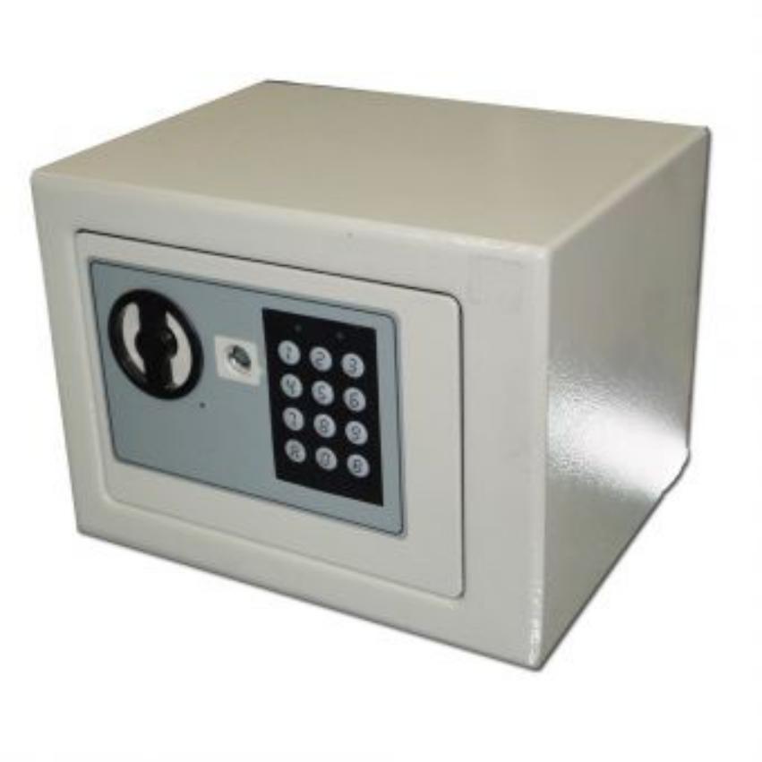 Caja fuerte electr nica peque a budget bsft 17en beis - Caja fuerte electronica ...
