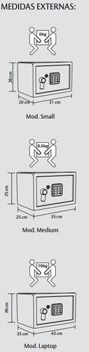 caja fuerte grande, electrónica,hoteles, oficina p/laptop