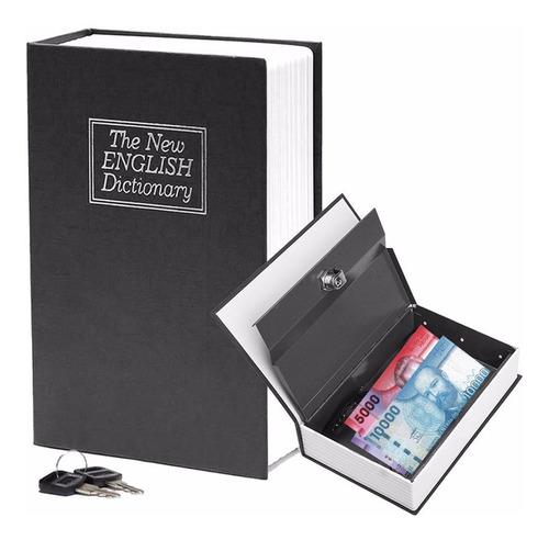 caja fuerte metalica libro dinero metalica llave nice home