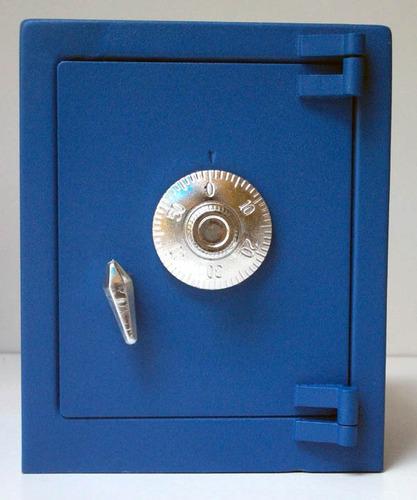 caja fuerte metalica tipo alcancia, abre con combinacion mn4