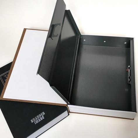 caja fuerte seguridad con camuflaje de libro con combinacion