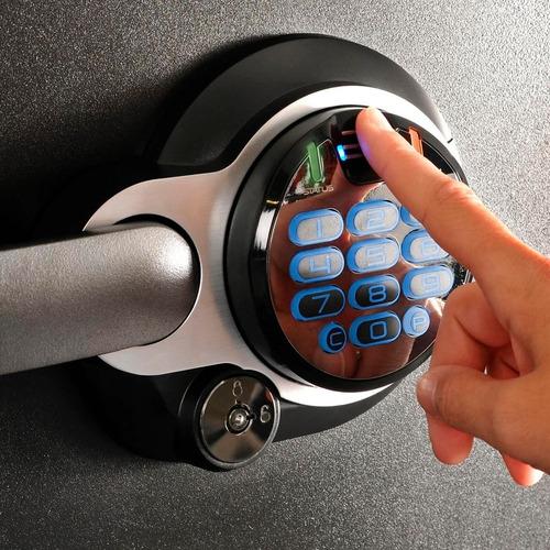 caja fuerte sentrysafe acero escáner huella digital sfw123bd
