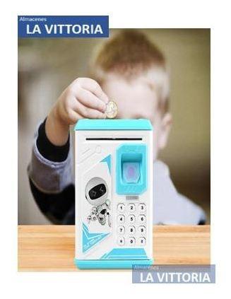 caja fuerte/alcancía digital infantil con código d seguridad