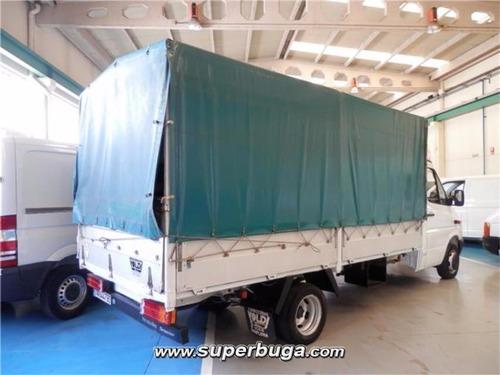 caja furgon con lona desmontable impecable