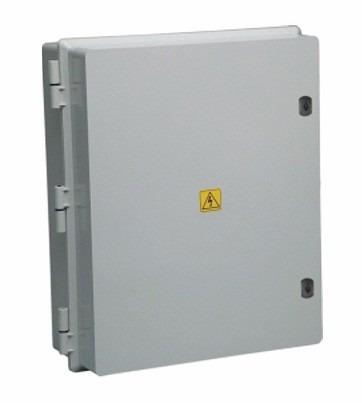 caja gabinete estanco pvc roker ip65 prg 349 - 435x525x210mm
