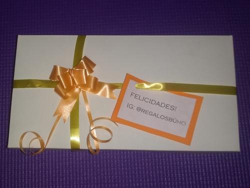 caja golosinas chocolates gift box regalo cumpleaños fiestas