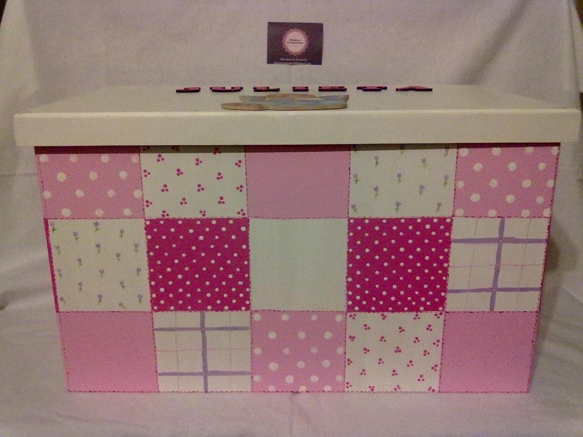 Cajas infantiles decoradas latest si tienes la celebracin for Cajas grandes de carton decoradas