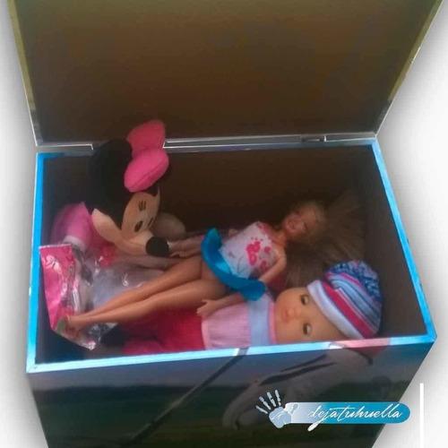 caja grande guarda juguetes