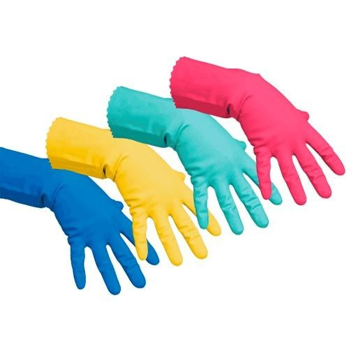 caja guantes ultraprotectores ver 61/2-7 vileda professional