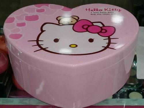 caja hello kitty organizador espejo niña mujer accesorios