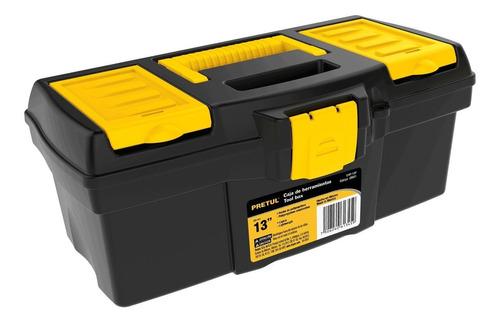 caja herramienta con compartimentos 13'' pretul 20602