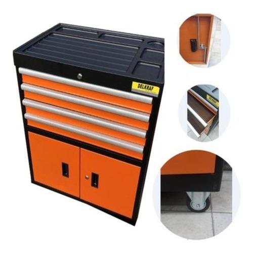 caja herramienta gabinete taller metálico cajón delkraf
