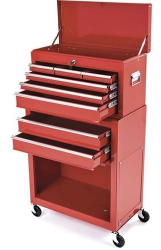 caja herramienta metálica 8  cajones torin (envio gratis)