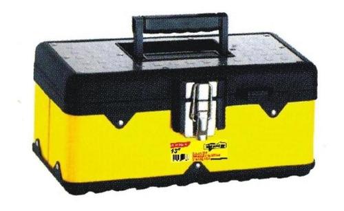 caja herramienta metalica amarilla 13` hl3030 e-pc stanprof