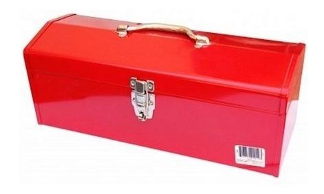 caja herramienta metalica roja tb104 a 35 x 15 x 11 stanprof