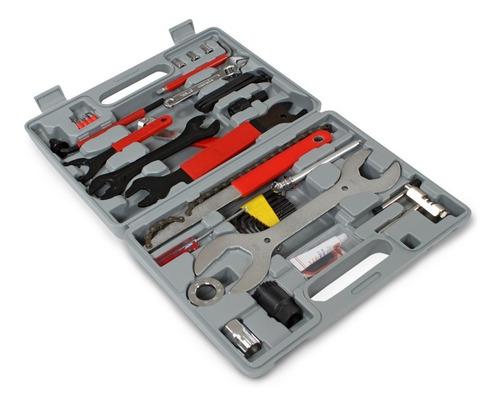 caja herramientas bicicleta maletin 44 piezas muy completa
