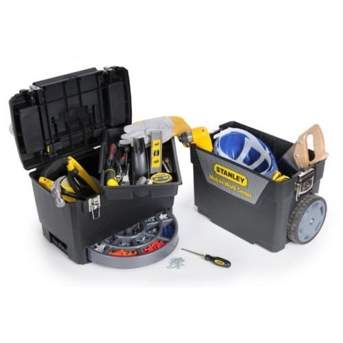 Caja herramientas carro doble stanley reforzada broche - Caja herramientas stanley ...