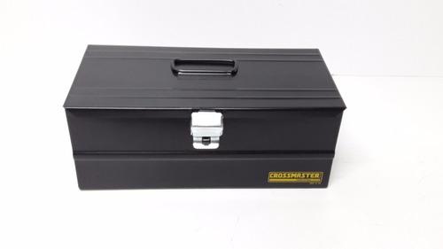 caja herramientas metalica crossmaster pro 350 x 180 x115 mm