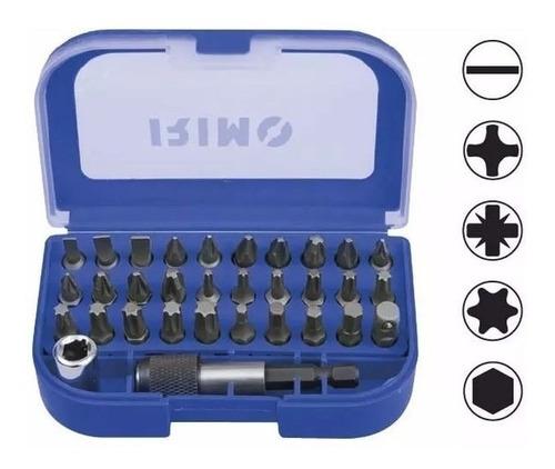 caja herramientas pequeña irimo con 32 piezas solomototeam