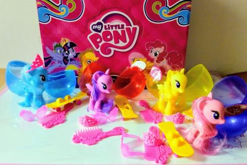 caja huevo sorpresa 12cm pony pijamask shopkins