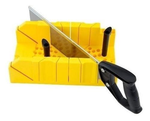 caja inglete serrucho costilla herramienta stanley