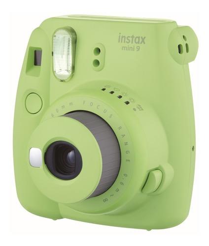 caja instax mini 9 verde lima 20 fotos cartera fucsia