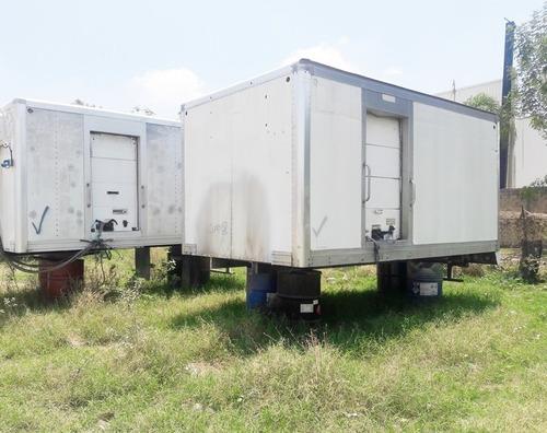 caja insulada termica de 4.40 mts de largo