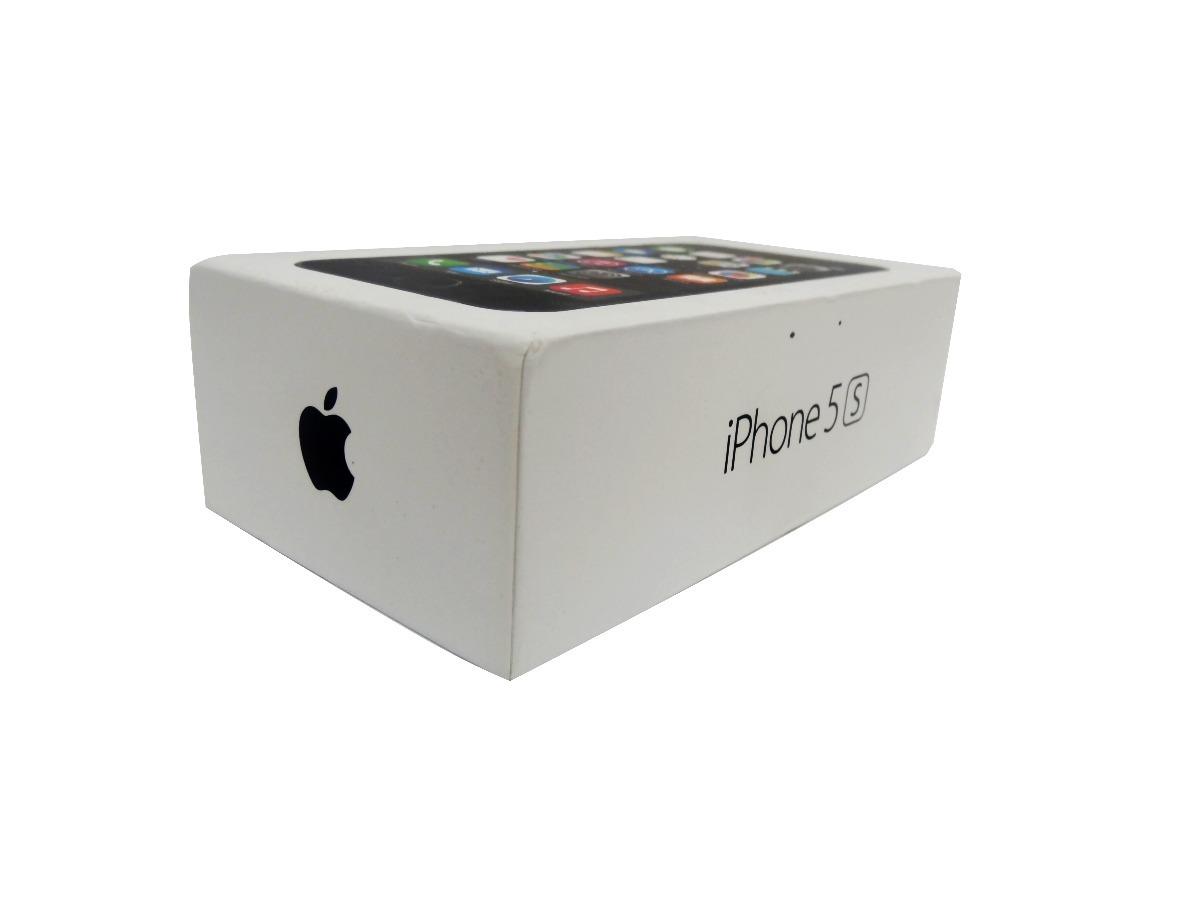 Caja iPhone 5s -4s - iPad Air Y Apple Tv Con Manual-garantia - $ 70 00