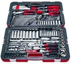 caja juego de herramientas stanley 99-150 racing 150 piezas