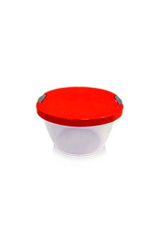 caja kendyware redonda #1 plesco0.68,7 x 12,5 x 14naturalazu