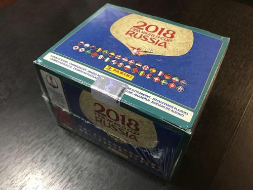 caja laminas panini mundial rusia 2018