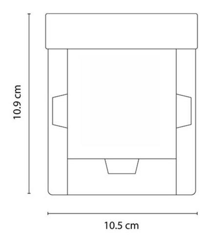 caja lapicero y porta notas adheribles armable