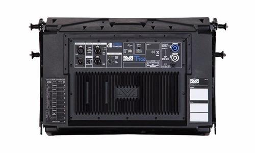 caja line array db technologies dva t12