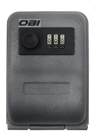 caja llaves empotrable 15 cm con combinacion 3 digitos