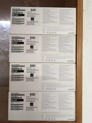 caja mac mini a1347 intel core i5