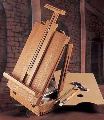 caja madera con atril artmate ahbx-5 50x30x9.7cm