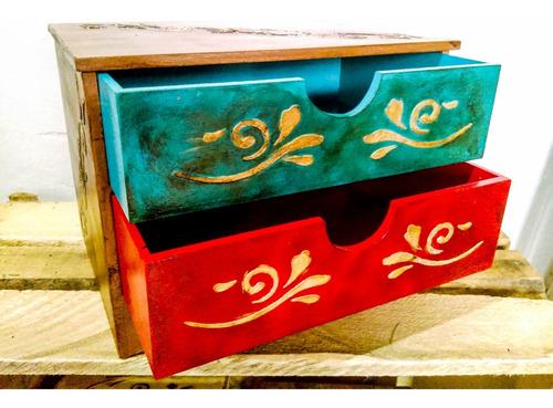 caja madera mdf regalo joyero alhajero marroquí souvenir