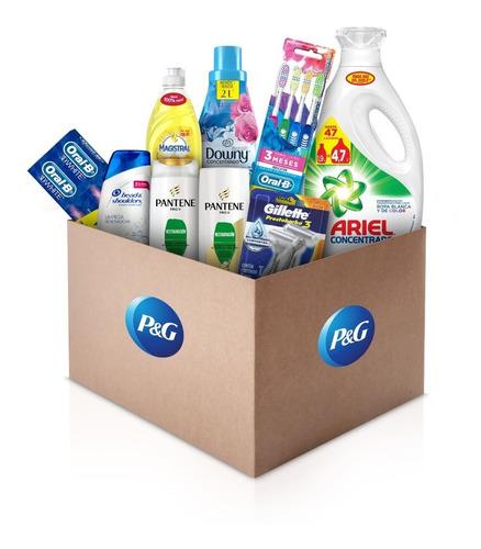 caja mensual limpieza y cuidado personal pg (9 unidades)