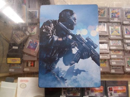 caja metalica call of duty ghost xbox 360