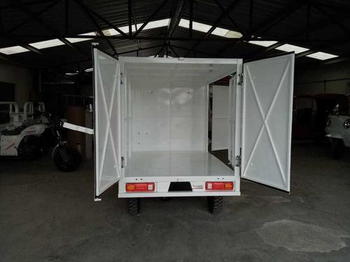 caja metalica puertas traseras y laterales 2020 motocarro