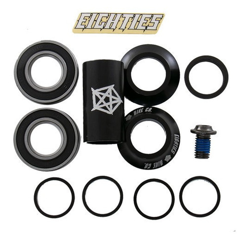 caja mid bmx eighties 22mm profesional rulemanes - racer